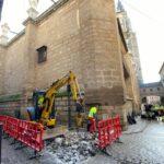 Las obras de la calle Comercio de Toledo se paralizarán hasta el 11 de enero