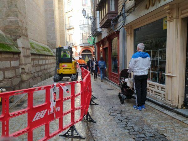 obras calle comercio toledo