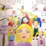 El concurso infantil 'Pintando igualdad' recibe más de 250 trabajos desde toda la región