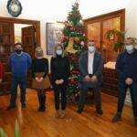 La nueva asociación de vecinos del barrio toledano de La Legua se reúne con la alcaldesa