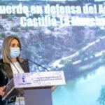 """Milagros Tolón, en la firma del Acuerdo en defensa del Agua: """"Toledo no puede esperar"""""""