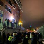 Vuelven a desalojar a 20 vecinos del edificio afectado por un incendio en Toledo por los daños en un pilar