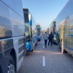 """El Transporte de Viajeros por Carretera protesta en Toledo por """"el retraso en los pagos"""" de las rutas escolares"""