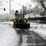 """Los expertos advierten sobre la ola de frío tras una nevada que llevaba """"siglos sin ocurrir"""""""