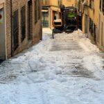 Los sindicatos piden no reanudar las clases hasta no despejar todas las acumulaciones de hielo y nieve