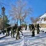 """Las labores de limpieza de nieve y hielo alcanzan ya """"500 kilómetros"""" de calles en Toledo"""