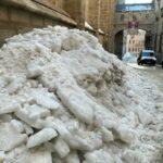 Cs insiste en acelerar la retirada de nieve para evitar problemas por el deshielo en Toledo
