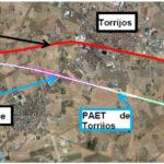 Ingenieros de Caminos proponen un corredor único en Torrijos para la línea convencional y el AVE Madrid-Extremadura
