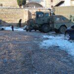 """""""Constantes y arduos"""" trabajos para limpiar el Casco Histórico e intensa limpieza de contenedores, paradas de autobús y aparcamientos"""