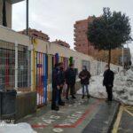 La provincia de Toledo tiene ya abiertos el 80% de sus centros educativos tras el temporal
