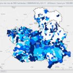 La incidencia de contagios continúa en ascenso en Toledo y Talavera, que registró más de 2.000 casos en 14 días