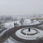 La nieve provoca una colisión múltiple de 15 vehículos a la entrada de Toledo