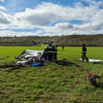 Fallecen dos personas tras estrellarse con una avioneta cerca del aeródromo de Algodor
