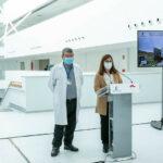 La tercera ola de COVID impidió trasladar al nuevo Hospital de Toledo los servicios de Neumología y Anestesia