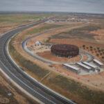 El centro de pruebas de Nokian Tyres en Santa Cruz de la Zarza, en su recta final