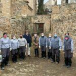 El alumnado de los talleres de Recualificación Laboral recupera el entorno de la plaza de Santa Teresa