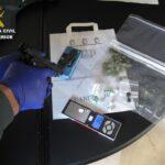 La Guardia Civil detiene a dos personas en La Villa de Don Fadrique tras desmantelar un punto de venta de droga