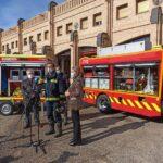 El Parque de Bomberos de Toledo estrena vehículo y sumará tres más este año, uno de ellos eléctrico