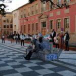 Protesta en Talavera de la Reina contra la privatización de la sanidad pública y las leyes que lo permiten