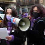 """CCOO y UGT, en sus concentraciones por el 8M: """"El feminismo no es una opción, es una absoluta necesidad"""""""