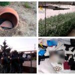 Operación 'Bunker': desmantelan en Fuensalida la plantación subterránea de marihuana con más capacidad de producción