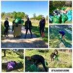 'Talavera Plogging', una iniciativa que conjuga la actividad física con el cuidado del medio ambiente
