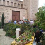 El Mercado de Flores del Jardín de San Lucas retoma su actividad este mes de abril