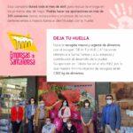 La Asociación de Comercio y Hostelería de Santa Teresa impulsa la recogida de alimentos con la campaña 'Deja tu huella'