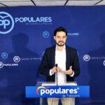 """Serrano (PP) exige al PSOE que rectifique """"sus acusaciones falsas"""" y se reserva el derecho a emprender acciones legales"""