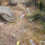 Piden colaboración a la ciudadanía para no acumular residuos en zonas verdes tras limpiar en el Valle