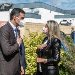 Pedro Sánchez visita las instalaciones de la farmacéutica Janssen en Toledo