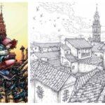 'El arte de Roger Rojas y la Mesa del Rey Salomón', una exposición de ilustraciones en torno a los mitos de Toledo