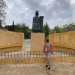 Vox Toledo pide la restauración de la escultura de Alfonso X El Sabio y su reubicación en el Paseo del Miradero