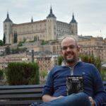 """Carlos Rodrigo, director del Castillo de San Servando: """"Escribir es una faceta más de mi vida aunque posiblemente la que más me guste"""""""