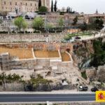 GALERÍA | El patrimonio en peligro que permitió redescubrir tres torres y una muralla del califa Abderramán III en Toledo