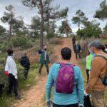 Hasta 40 personas participan en la limpieza del entorno natural de las Sierras de Madridejos