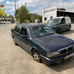 Dos hombres detenidos en Tembleque por huir de un control policial en un coche robado