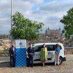 """La AECC de Toledo dispone de un nuevo vehículo para sus proyectos solidarios gracias a la Fundación """"la Caixa"""""""