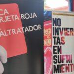 El Instituto talaverano Ribera del Tajo, primera parada de la exposición 'Ante la Violencia de Género, NO'