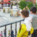 Las futuras generaciones de Villacañas rinden homenaje a la historia de su pueblo en su 464 aniversario