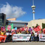 Tras su concentración en Toledo, el personal de GEACAM confirma que habrá huelga el próximo 24 de mayo