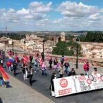 GALERÍA | Así ha sido la manifestación organizada en Toledo con motivo del 1 de mayo
