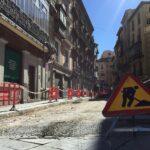 Nuevos cortes de tráfico en la calle Comercio