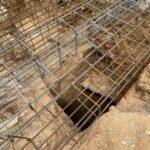 Los restos del anfiteatro romano que se desenterraron entre las obras de una vivienda en el barrio de las Covachuelas de Toledo