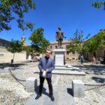 """Lorenzo Silva: """"Juan Padilla estuvo 494 años sin tener memoria en una ciudad por la que dio la vida"""""""