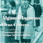 La periodista Elena Cabrera presenta 'Algunas lagunas', ensayo novelado sobre memoria histórica en el marco de la Feria del Libro de Toledo