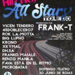 Frank-T presenta 'Hip-Hop All Stars' una fiesta de música urbana 'made in Toledo'