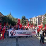 Nueva concentración para pedir un ERE «razonable» en Caixabank que afecta a más de 60 trabajadores en Toledo