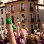 """Concentración en Toledo """"por el derecho al aborto digno, seguro y gratuito"""""""