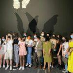 Inaugurada 'Alas de Toledo', una performance escultórica y audiovisual de la Escuela de Arte